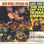 poster Film - Caderea imperiului roman - The Fall Of The Roman Empire (1964)