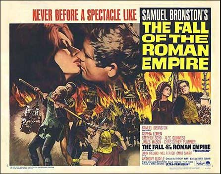 poster Caderea imperiului roman – The Fall Of The Roman Empire (1964)