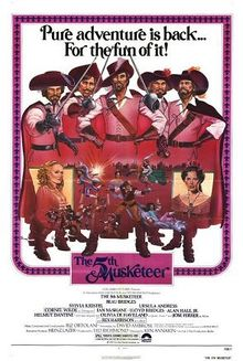 poster Film - The Fifth Musketeer - Al cincilea muschetar (1979)