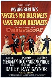 poster Film - There's No Business Like Show Business (1954)