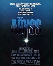 poster Film - Abisul - The Abyss (1989)