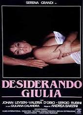poster Film - Dorind-o pe Giulia - Desiderando Giulia (1986)