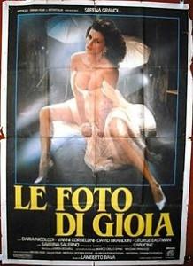 poster Film - Delirium - Le foto di Gioia (1987)
