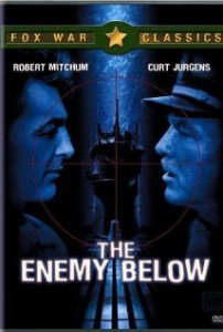 poster Film - Inamicul dedesubt - The Enemy Below (1957)