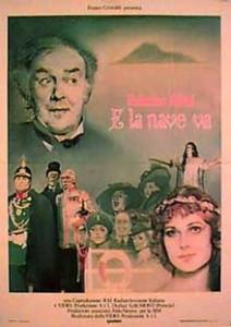 poster Film - Si corabia inainteaza - E la nave va (1983)