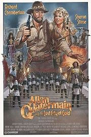 poster Allan Quatermain and the Lost City of Gold (1987)