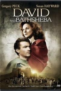 poster David and Bathsheba (1951)
