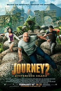 poster Journey 2 The Mysterious Island (2012)