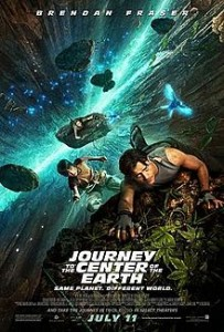 poster Journey to the Center of the Earth (2008)