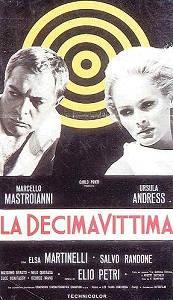 poster La Decima Vittima (1965)