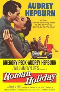 poster Roman Holiday (1953)