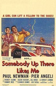 poster Somebody Up There Likes Me (1956)
