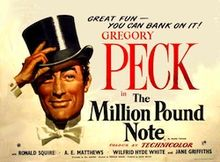 poster The Million Pound Note (1954)