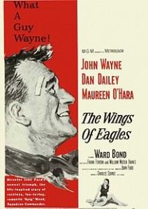 poster The Wings of Eagles (1957)