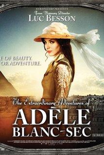 poster Aventurile extraordinare ale Adelei (2010)