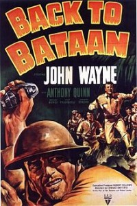 poster Back to Bataan (1945)