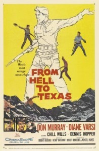 poster From Hell to Texas (1958)