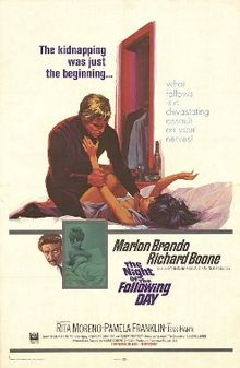poster The Night Of The Following Day (1968)