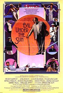 poster Evil Under the Sun (1982)