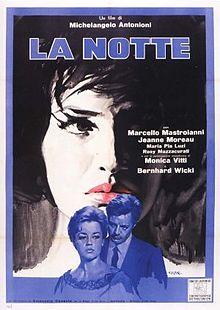 poster La Notte 1961