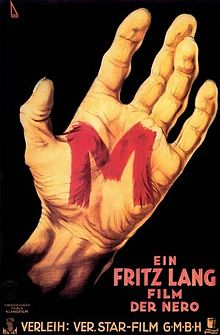 poster M (1931)
