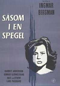 poster Ca printr-o oglindă - Såsom i en spegel (1961)