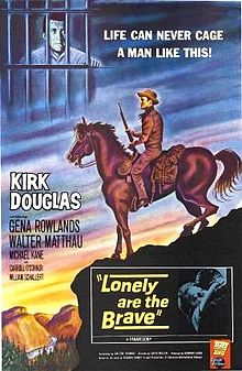 poster Lonely Are the Brave (1962)