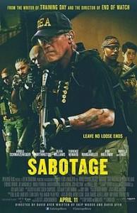 poster Sabotaj - Sabotage (2014)