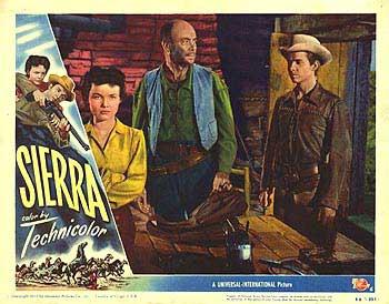 poster Sierra (1950)