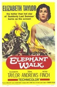 poster Elephant Walk (1954)