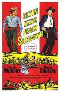 poster Seven Ways from Sundown (1960)