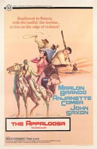poster The Appaloosa aka Southwest to Sonora (1966)