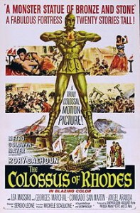 poster The Colossus of Rhodes (1961)