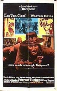 poster Barquero (1970)
