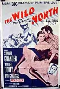 poster The Wild North (1952)