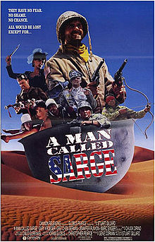 poster A Man Called Sarge (1990)