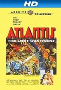 poster Atlantis, the Lost Continent (1961)