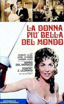 poster La donna piu bella del mondo (Lina Cavalieri) (1955)