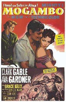 poster Mogambo (1953)