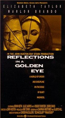 poster Reflections in a Golden Eye (1967)