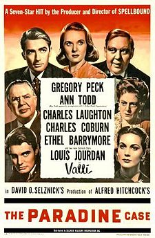 poster The Paradine Case (1947)