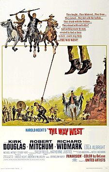 poster The Way West (1967)