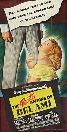 poster The Private Affairs of Bel Ami (1947)