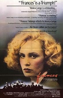 poster Frances (1982)