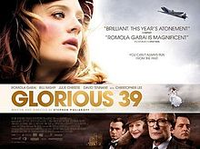 poster Glorious 39 (2009)