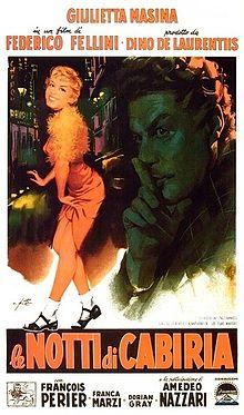 poster Le Notti di Cabiria (1957)