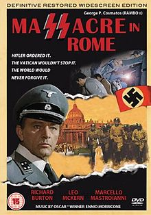 poster Massacre in Rome - Rappresaglia (1973)