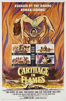 poster Cartagine In Fiamme (1960)