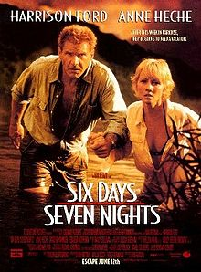 poster Six Days Seven Nights (1998)