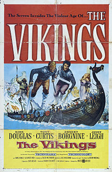 poster The Vikings (1958)